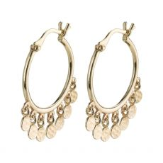 Pilgrim Panna Gold Earrings