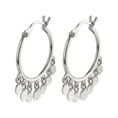 Pilgrim Panna Silver Earrings