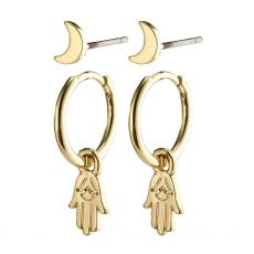 Pilgrim Nyla Gold Earrings