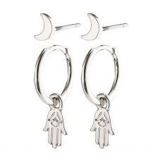 Pilgrim Nyla Silver Earrings