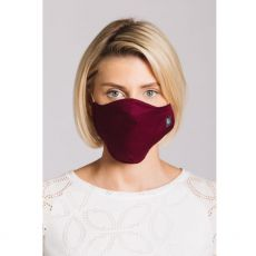 Plain Damson Cloth Face Mask