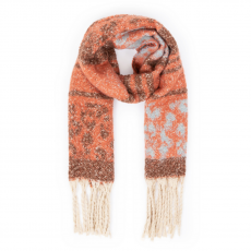 Powder Bjork Scarf Tangerine Mix