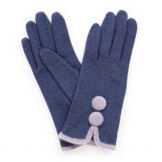 Powder Christabel Navy Wool Gloves