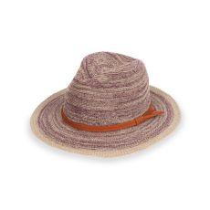 Powder Damson Natalie Hat