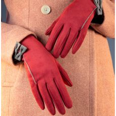 Powder Doris Berry Gloves