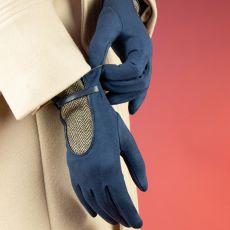 Powder Genevieve Navy Gloves