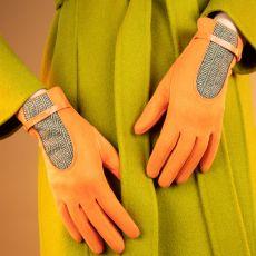 Powder Genevieve Tangerine Gloves