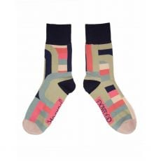 Powder Gents Mint Stripe Socks