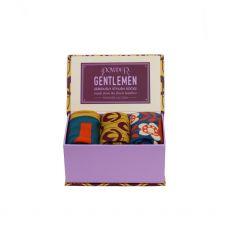 Powder Gents Scallops Sock Box Set