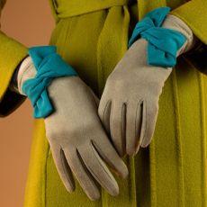 Powder Henrietta Stone & Teal Gloves