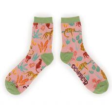 Powder Jungle Ankle Socks