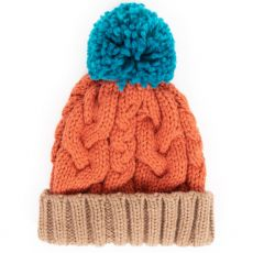 Powder Kara Tangerine Mix Hat