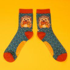 Powder Ladies Western Hedgehog Ankle Socks