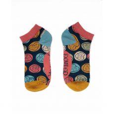 Powder Love Hearts Trainer Socks