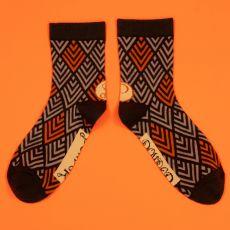 Powder Men's Chevron Charcoal Socks