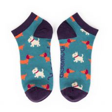 Powder Mixed Dogs Trainer Socks