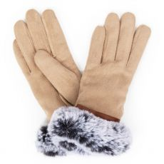 Powder Penelope Faux Suede Stone Gloves