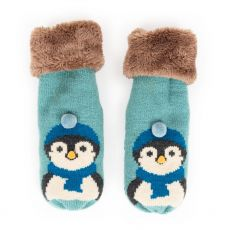 Powder Penguin Mittens