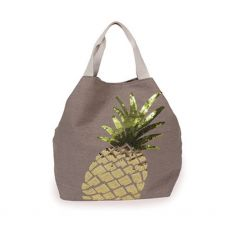 Powder Pineapple Stone Beach Bag