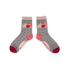 Powder Puppy Love Ankle Socks