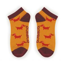 Powder Sausage Dogs Trainer Socks