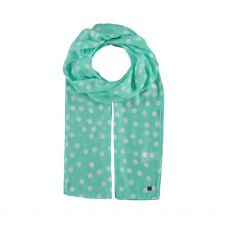 FraasTurquoise Dotty Scarf