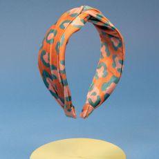 Powder Velvet Headband Leopard Headband