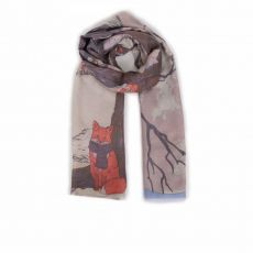 Powder Winter Chums Print Scarf