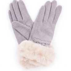 Powder Tamara Slate Wool Gloves