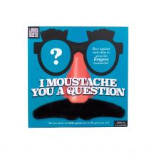 Professor Puzzle I Moustache You a Question