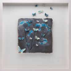 Rebeka Kahn 'Live Life to the Full'' 53cm x 53cm