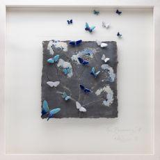 Rebeka Kahn 'New Beginning'' 53cm x 53cm