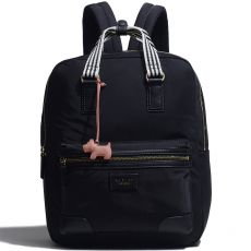Radley Bloomsbury Way Large Ziptop Backpack Black