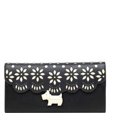 Radley Crest Brode Large Wallet Matinee Black