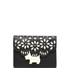Radley Crest Brode Small Trifold Purse Black