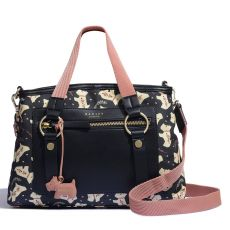 Radley Dotty Dog Black Multiway Bag