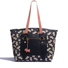 Radley Dotty Dog Black Tote