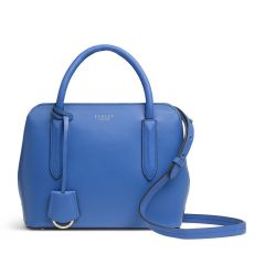 Radley Liverpool Street Blue Leather Handbag
