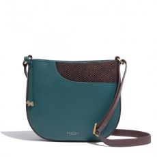 Radley London Pockets Green Leather Crossbody