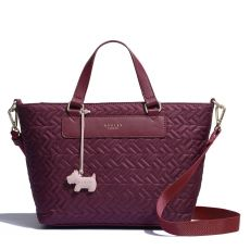 Radley Medium Zip Top Multiway Bag Rio Red Front