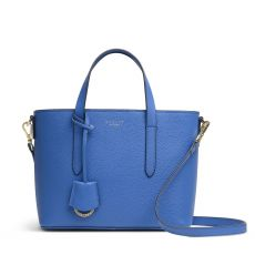 Radley Silk Street Blue Leather Multiway Bag