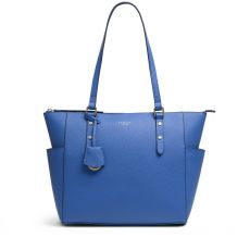 Radley Silk Street Blue Leather Shoulder Bag