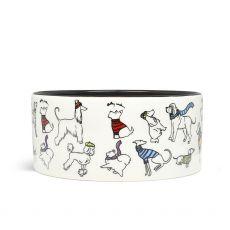 Radley White Dog Bowl