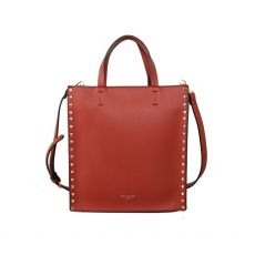 Red Cuckoo Stud Tote Bag