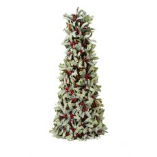 Red Mistletoe Cone Tree