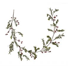 Red Mistletoe Garland