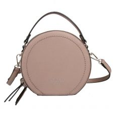 Red Cuckoo Round Taupe Grab Bag