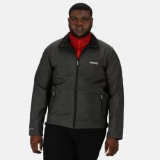 Regatta Cera IV Soft Shell Gents Black Marl Jacket