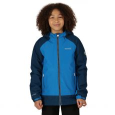 Regatta Hurdle III Kids Blue/Navy Jacket