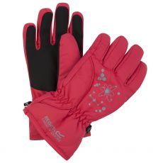 Regatta Kids' Arlie II Waterproof Gloves Red